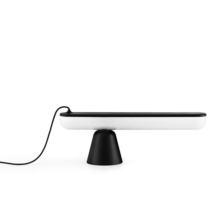 Acrobat bordlampe, Sort
