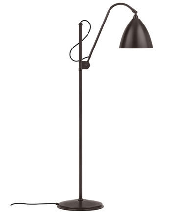 Bestlite BL3M gulvlampe, Sort messing (all brass)