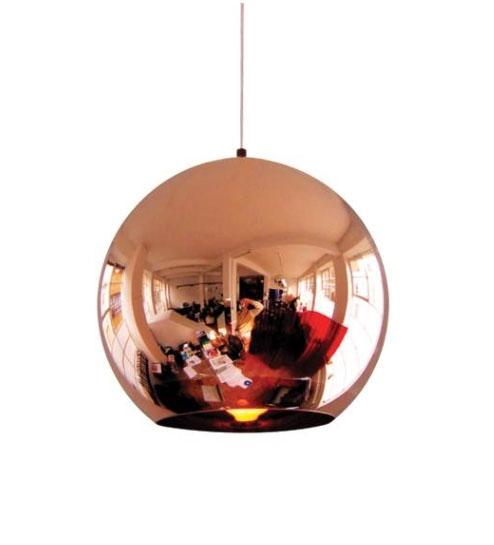 tom dixon copper round pendel se udvalget af tom dixon. Black Bedroom Furniture Sets. Home Design Ideas