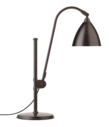 Bestlite BL1 bordlampe, Sort Messing (all brass)