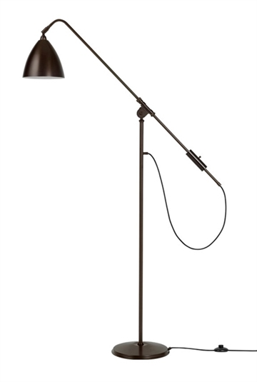 Bestlite BL4 gulvlampe, sort messing (all black brass)