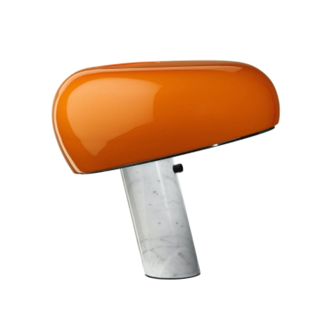 Snoopy Bordlampe, orange