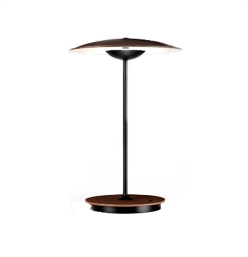 Ginger 20 M batteri bordlampe, wenge