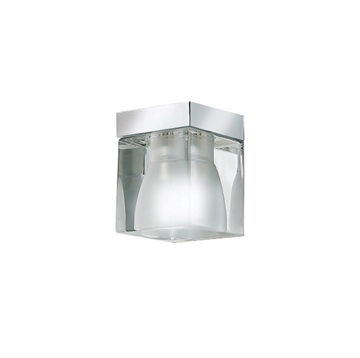 Ice Cube monteret downlight, klar/krom