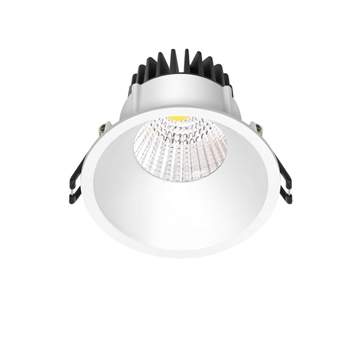 LED downlight, indbygning