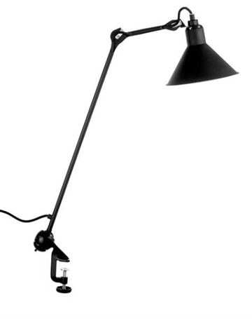 Lampe Gras No 201 bordlampe, sort