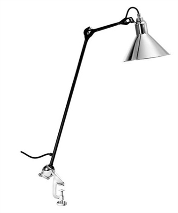 Lampe Gras No 201 bordlampe, sort-krom