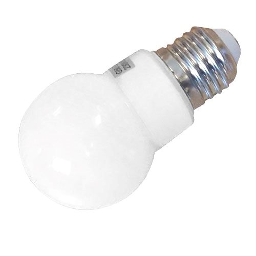 DIOLUX OUT Ø50mm IP44 LED 1W E27 160lm, opal/hvid