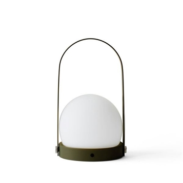 Carrie LED Lampe, oliven