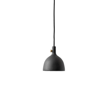 OUTLET: Cast Pendel, Shape 2, Black
