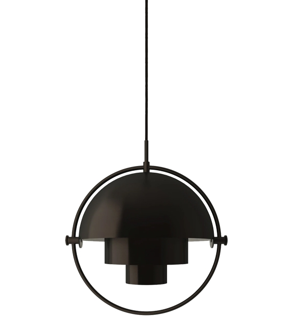 Multi-Lite Pendel, black brass