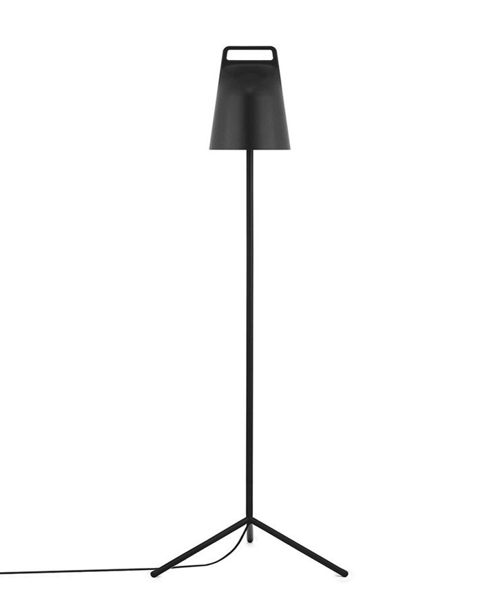 Stage gulvlampe, Sort