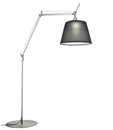 Tolomeo Paralume Outdoor, sort