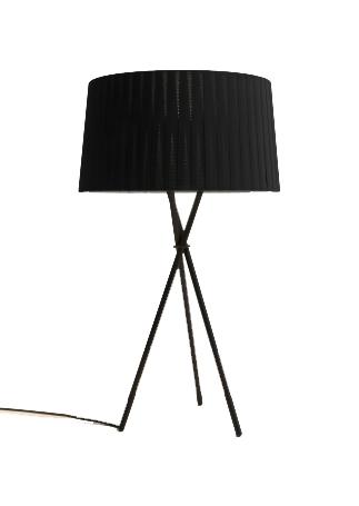 Tripode G6 bordlampe, sort