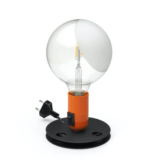 Lampadina Bordlampe, orange