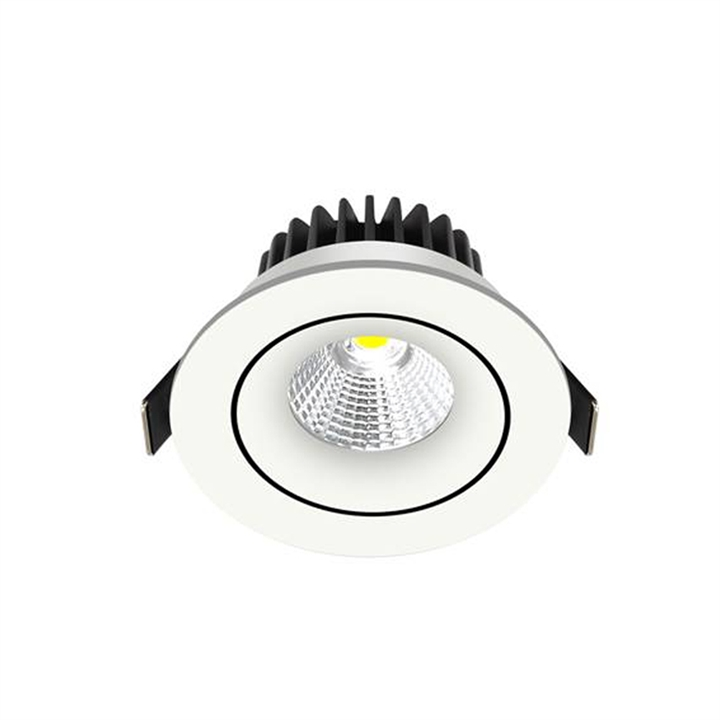LED downlight Tilt, indbygning