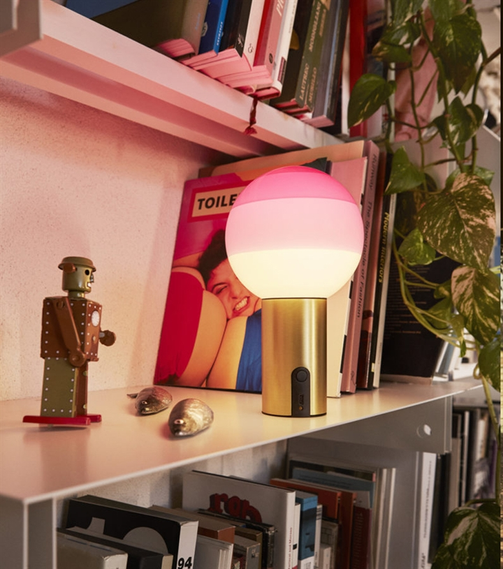Dipping Light Batteri Bordlampe, Pink
