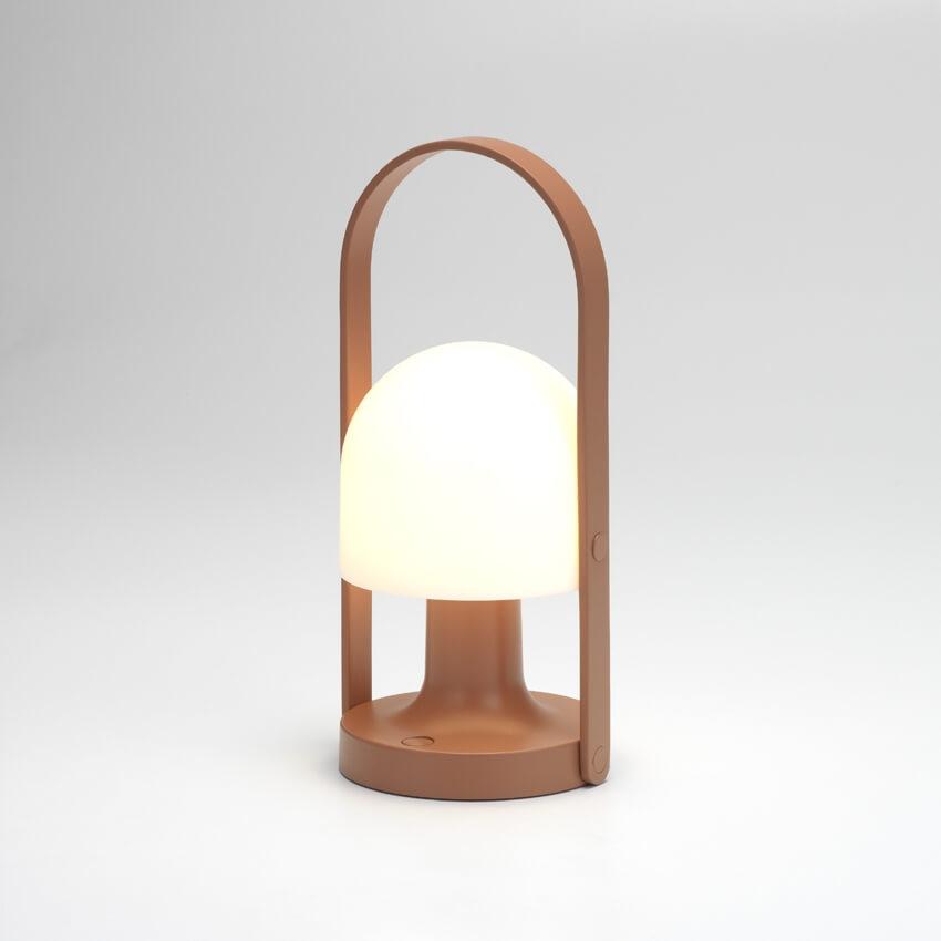FollowMe lampe, terracotta
