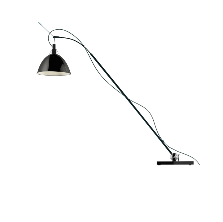 Max. Kugler LED bordlampe, sort