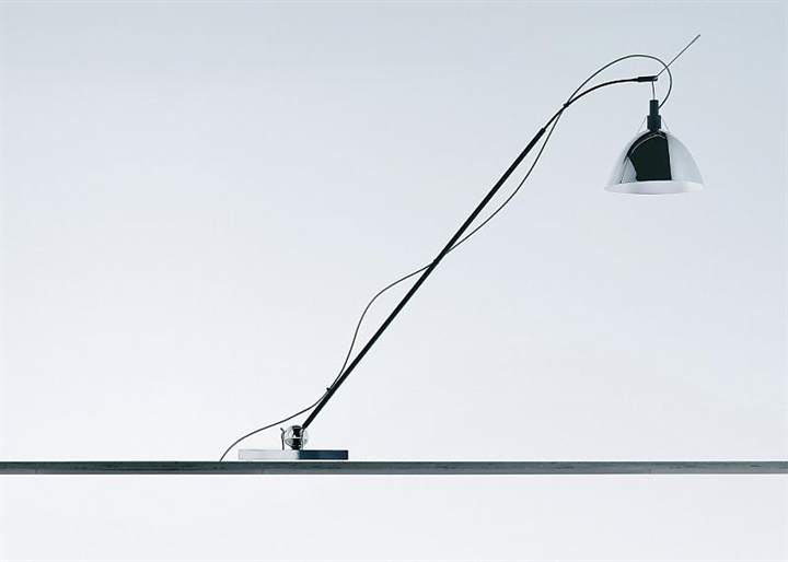 Max. Kugler LED bordlampe, krom