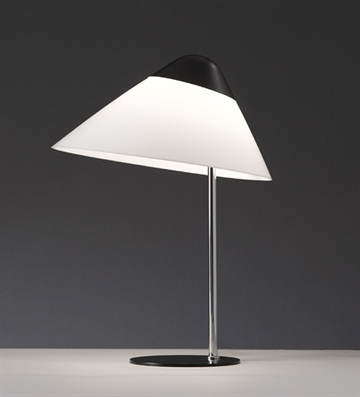 Opala Midi Bordlampe, Sort