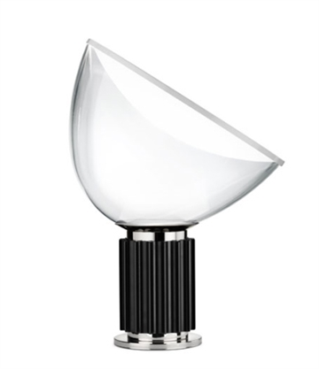 Taccia Small bordlampe, sort