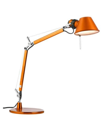 Tolomeo Micro bordlampe, orange