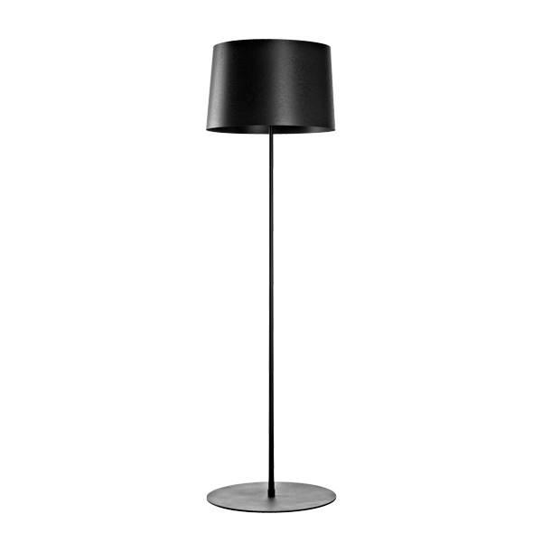 Twiggy Lettura, sort standerlampe designet af Marc Sadler